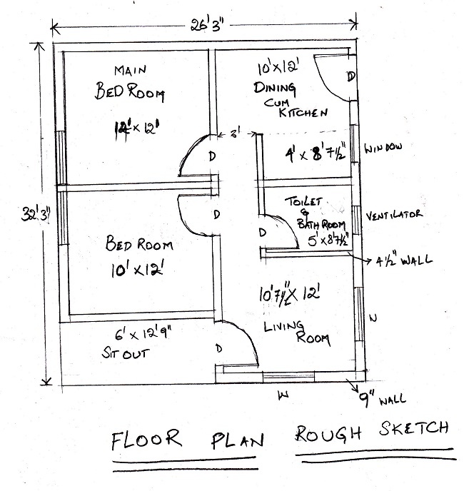 Autocad 2d house plan drawing pdf for Autocad house plans